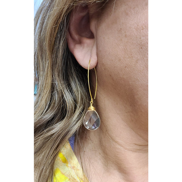 Clara Quartz Earrings