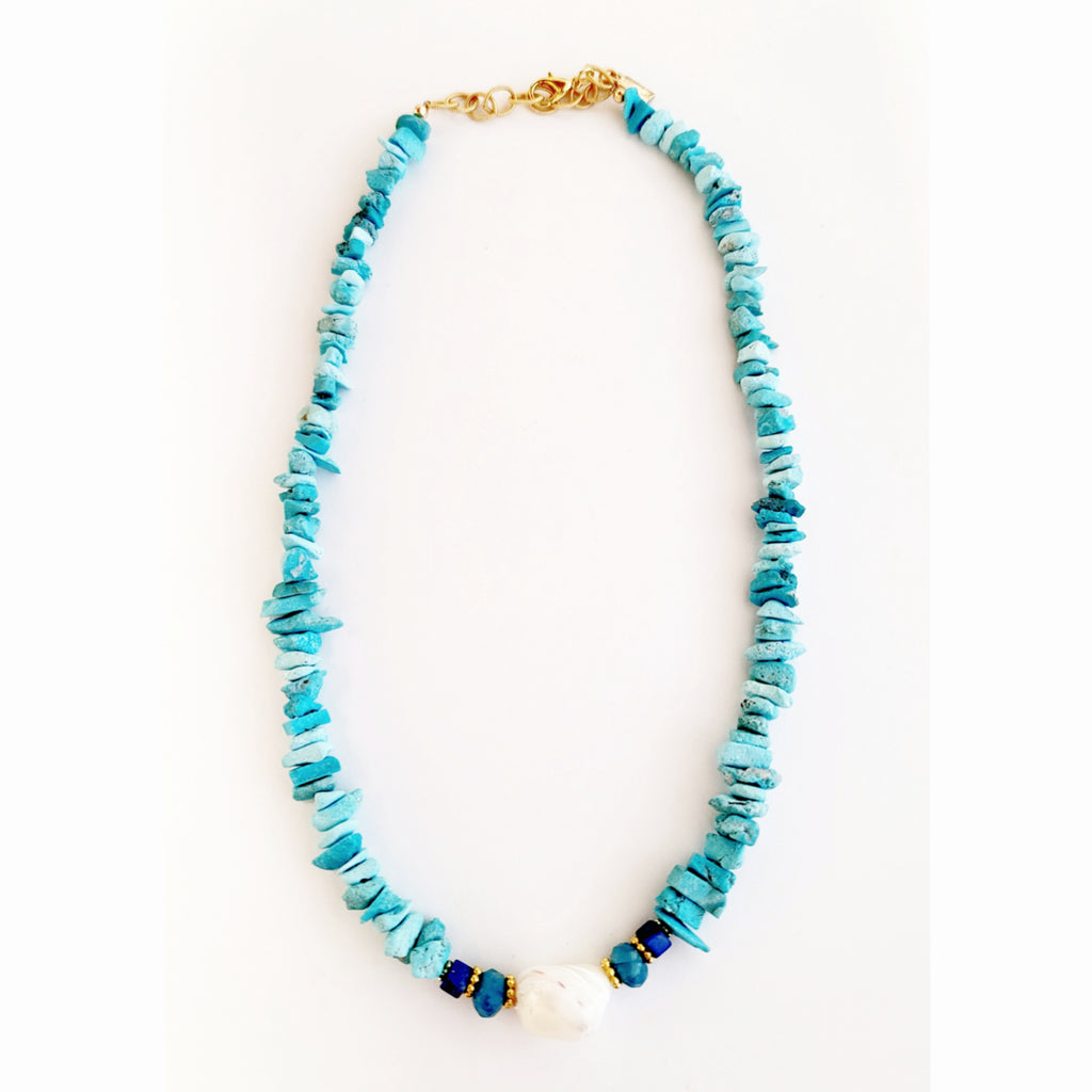 Turqa Blue Necklace