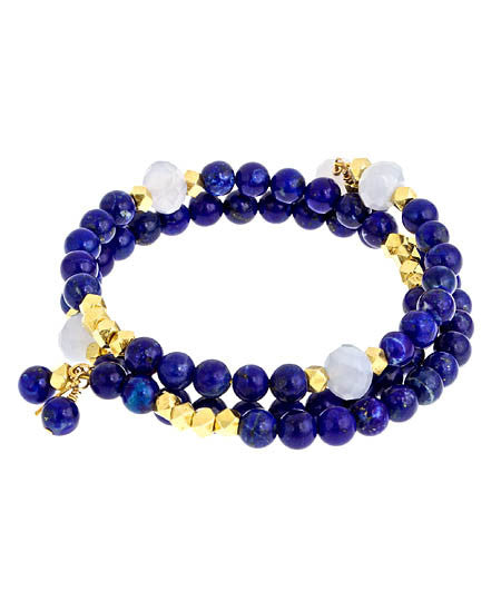 Lapis Gemstone Stack - MINU Jewels