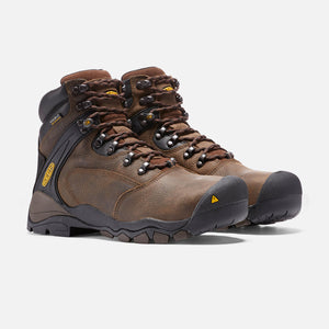 "Keen Louisville 6"" Steel Toe Waterproof Work Boots 1015401"