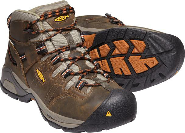 Keen MEN'S DETROIT XT WATERPROOF BOOT (SOFT TOE) STYLE #1020039