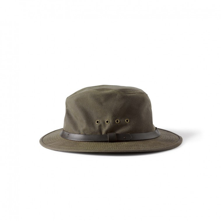 Filson Tin Cloth Packer Hat 60015 Otter Green