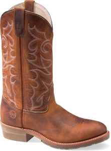 "Double-H DH1552 12"" Domestic Work Western Cowboy Boots"