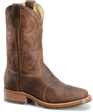 "Double H Men's 11"" Domestic Wide Square Toe ICE™ Roper DH3560"