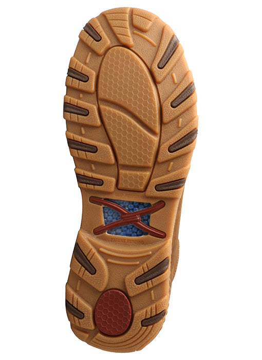 "Twisted X MEN'S 6"" DRIVING MOC HIKER WITH CELLSTRETCH®Style MXC0011"