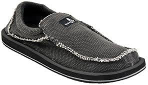 Sanuk Chiba For Men Sidewalk Surfer SMF1047 Black