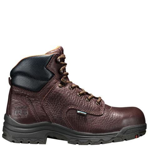 "WOMEN'S TIMBERLAND PRO® TITAN® 6"" ALLOY TOE WORK BOOTS STYLE 53359242 WATERPROOF"