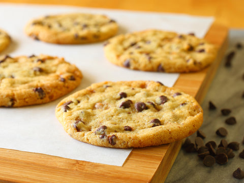 Toffee Chocolate Chip Cookies (Dozen, Pre-baked)