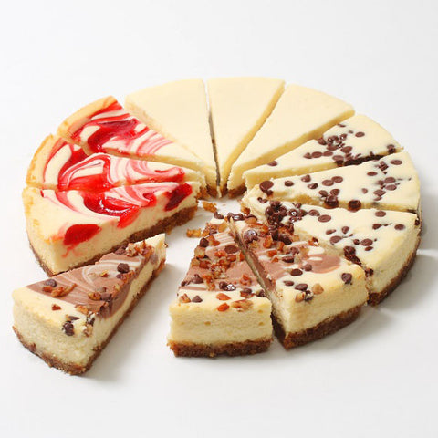 Gourmet Cheesecake Assortment 2lbs