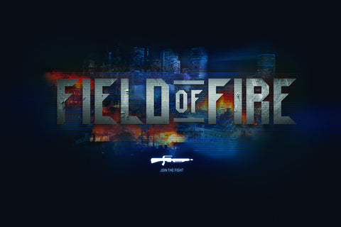 "Field of Fire Poster 17""x11"""