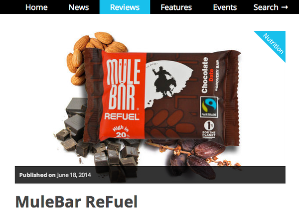 MuleBar, sports nutrition, protein, recovery, running, fairtrade, tasty, healthy, snack