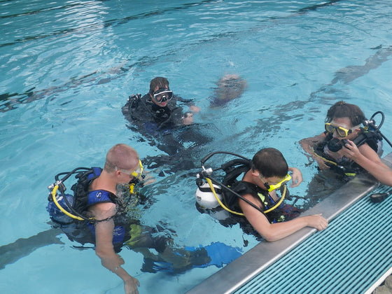Try Scuba Diving UNIVERSITY COURSES