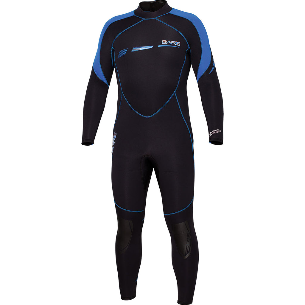 Bare 3/2mm Sport S-Flex Full Suit Men's