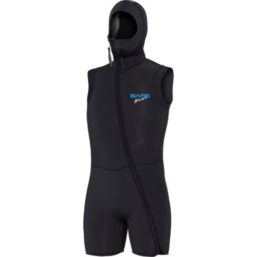 Bare 7mm Sport S-FLEX Men's Step-In Hooded Vest