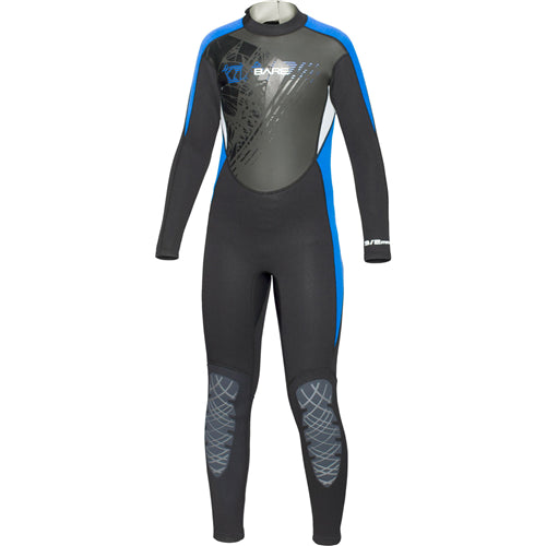 Bare 3/2mm Manta Youth Full Suit