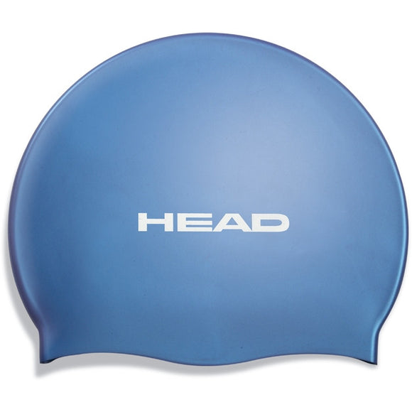 Head Silicone Flat Swim Cap