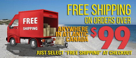 Free Shipping in Atlantic Canada!