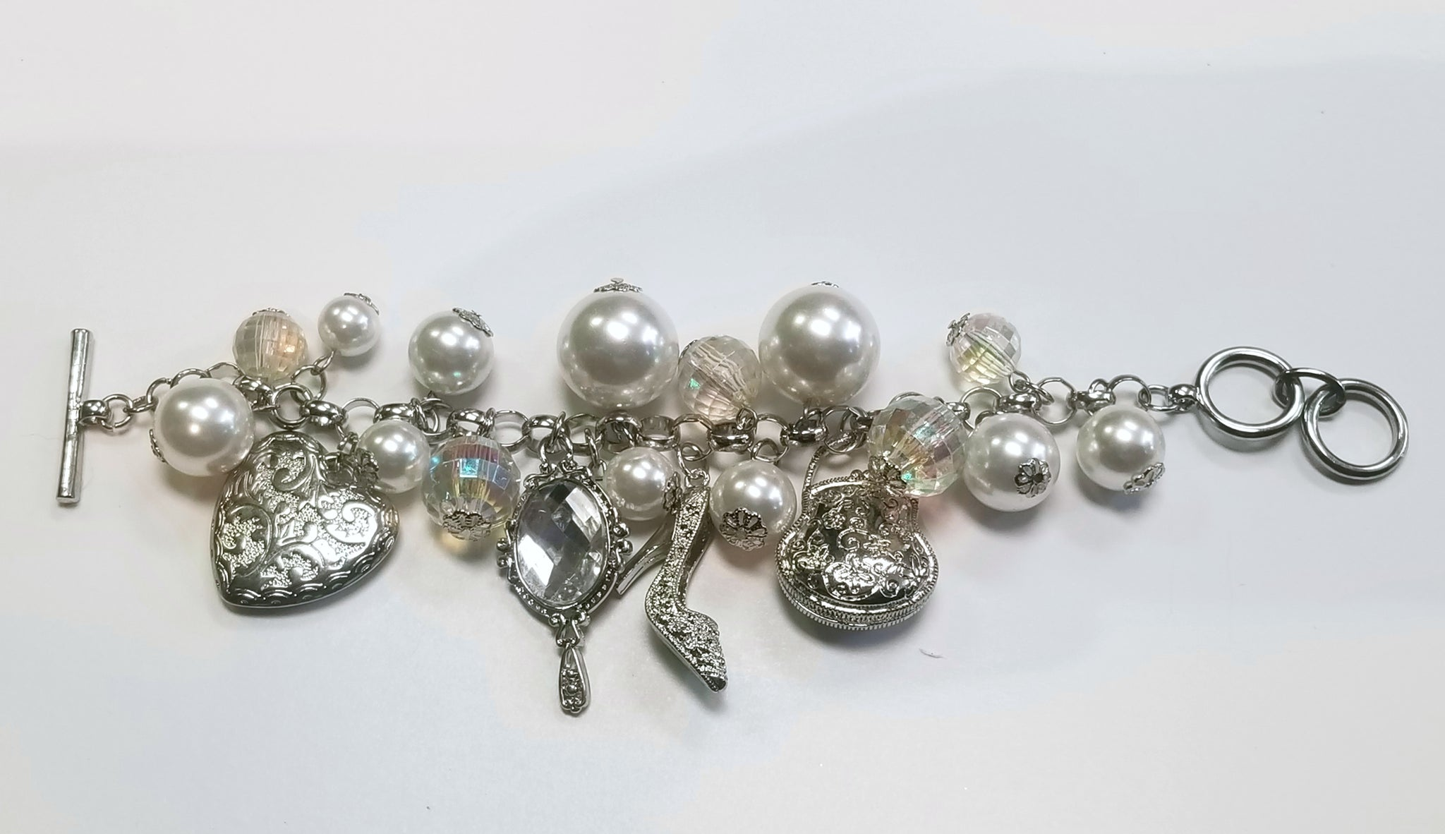 Off to the Ball Charm Bracelet
