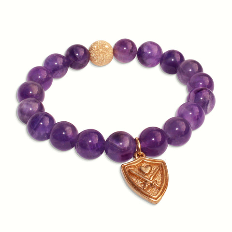 WIZARDLY Amethyst Bracelet at Wizardly.com