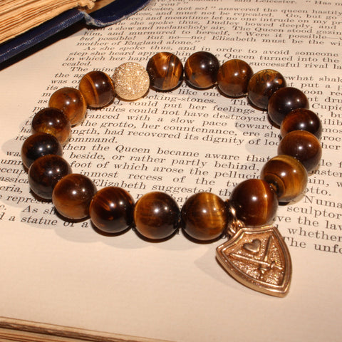 WIZARDLY Tiger Eye Bracelet at Wizardly.com