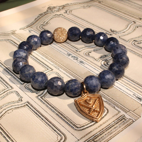 WIZARDLY Royal Sapphire Bracelet at Wizardly.com