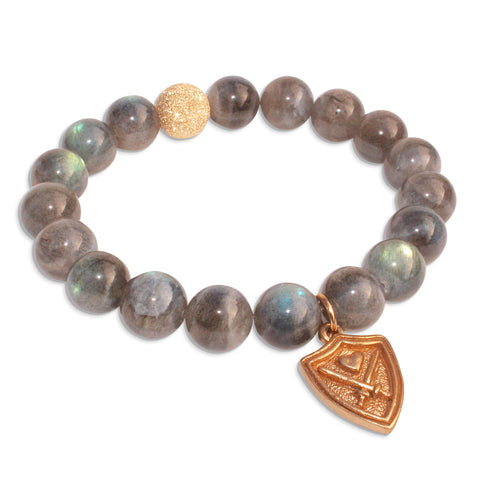 WIZARDLY Labradorite Bracelet at Wizardly.com