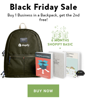 Black Friday Sale - Business in a backpack