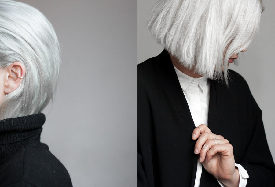 How to get, keep and care for white and grey hair – SWY STUDIO
