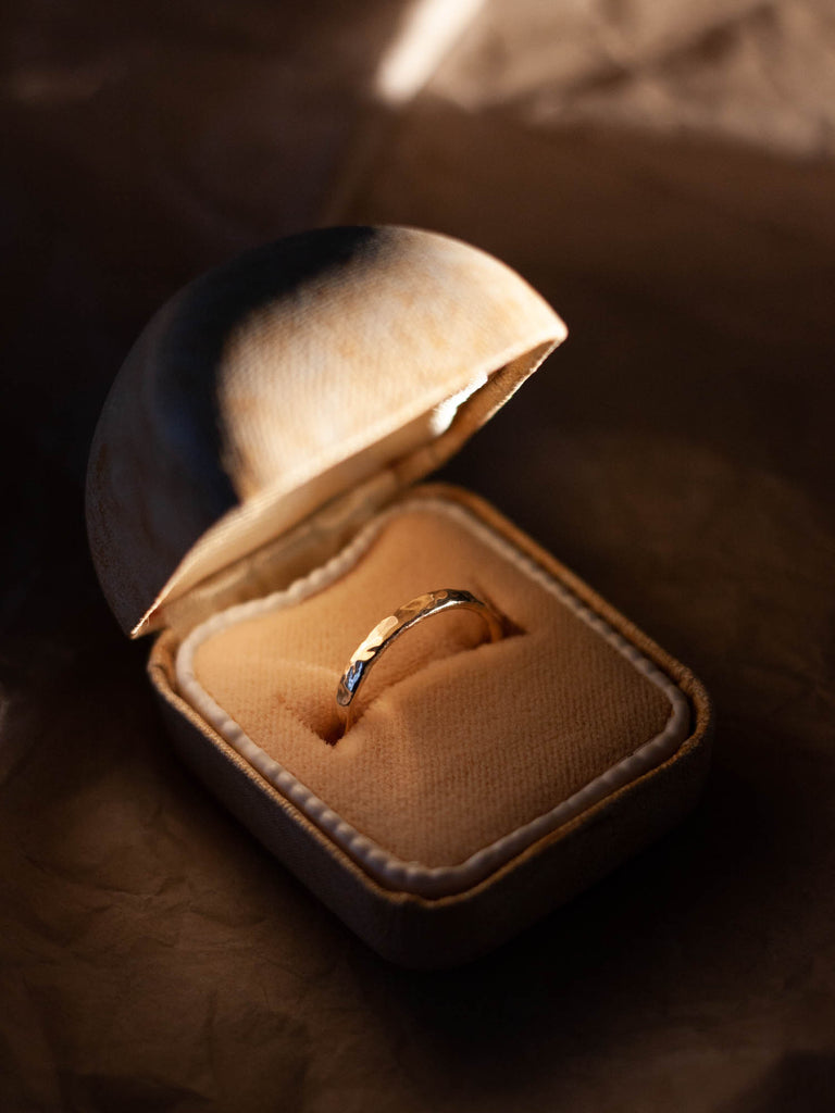 Custom wedding rings handcrafted in Copenhagen by SWY STUDIO