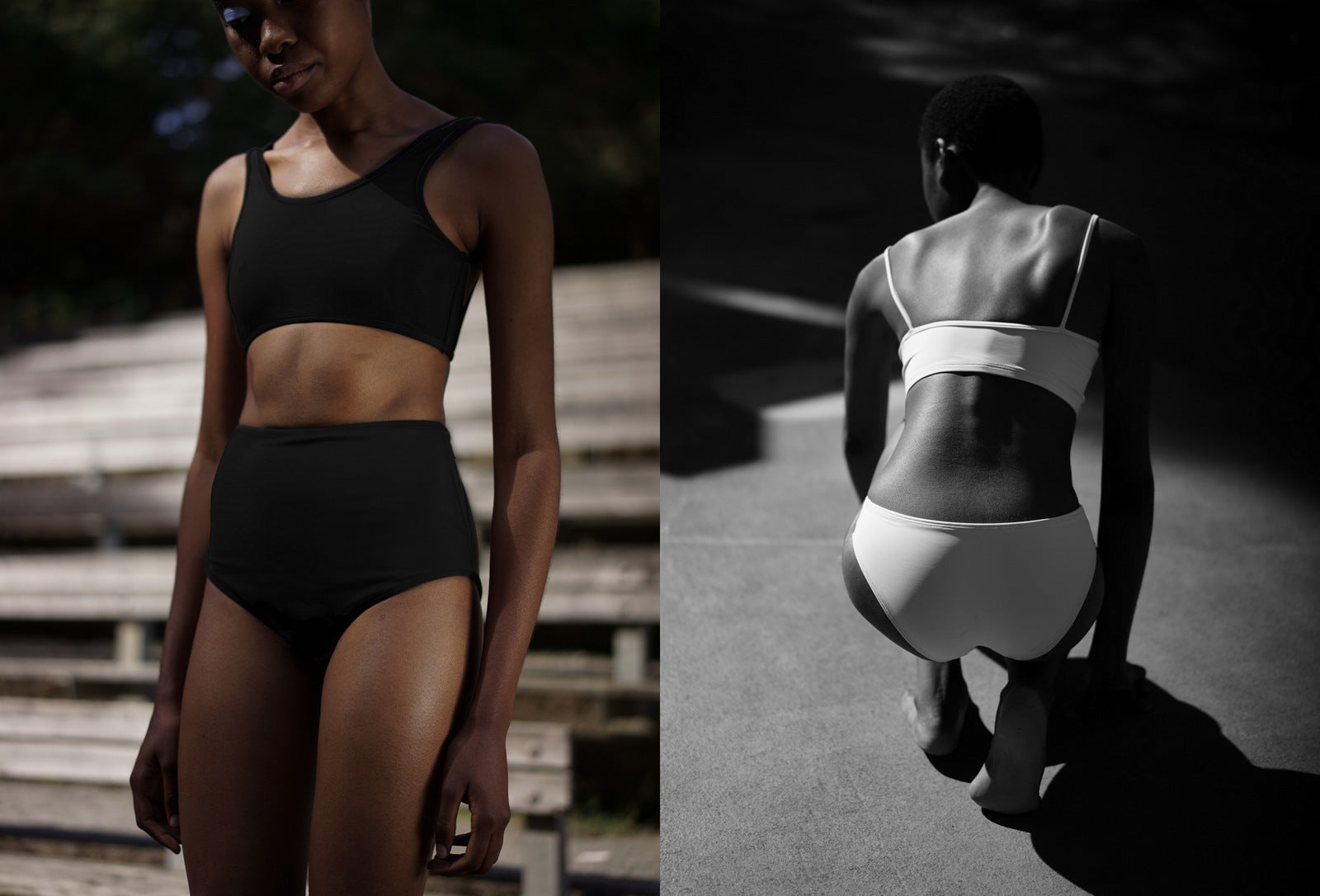 06d80d965f1b92 NU SWIM / A small but perfectly curated selection of swim wear in muted  colors only. Tops and bottoms available after the mix & match concept.