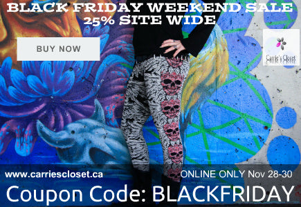 Black Friday Weekend Sale at Carrie's Closet