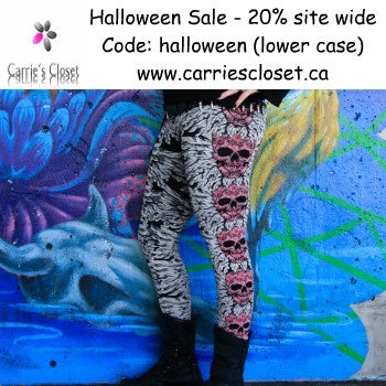 20% off site wide Halloween Sale at CarriesCloset.com
