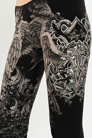 Angel Wing Leggings - Carrie's Closet
