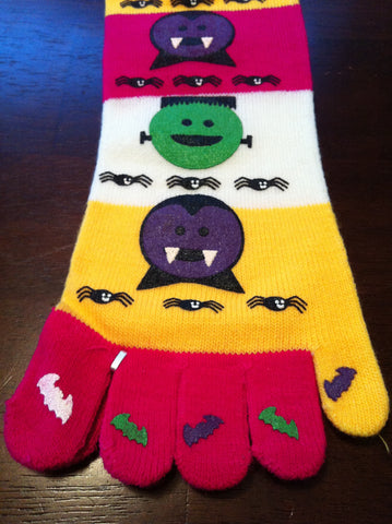 Monster Toe Socks - Carrie's Closet  - 1