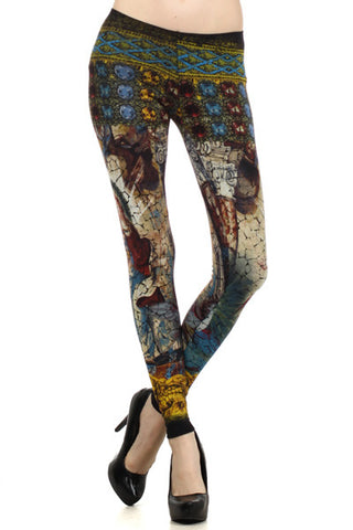 Cathedral Leggings - Carrie's Closet  - 1