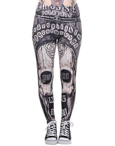 Choose Fate Ouija Leggings - Carrie's Closet