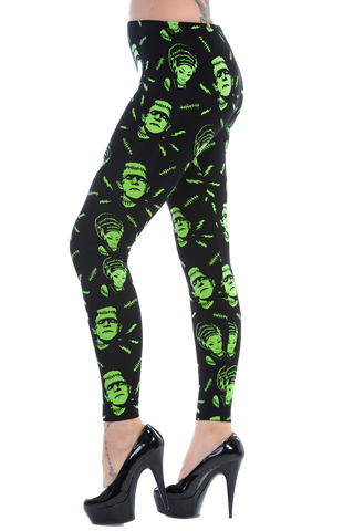 Frankenstein Leggings - Carrie's Closet