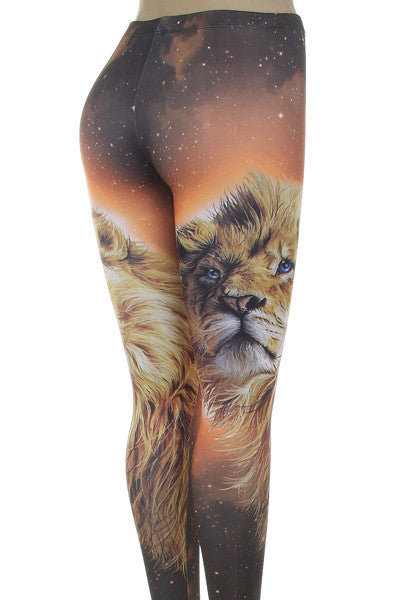 Compare Shipping Rates >> Galaxy Lion Leggings – Carrie's Closet