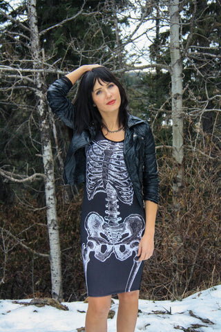 Skeleton Dress - Carrie's Closet  - 1