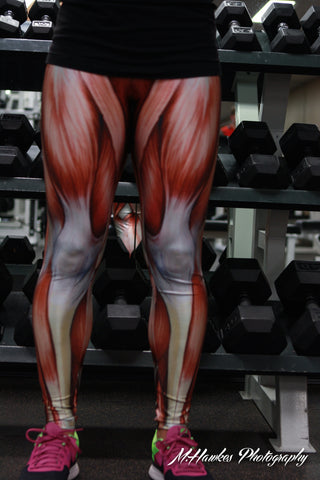 Muscle Leggings - One Size - Carrie's Closet