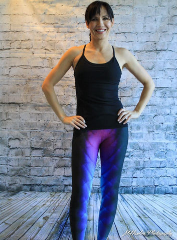 Alien Skin Compression Technical Leggings - Carrie's Closet
