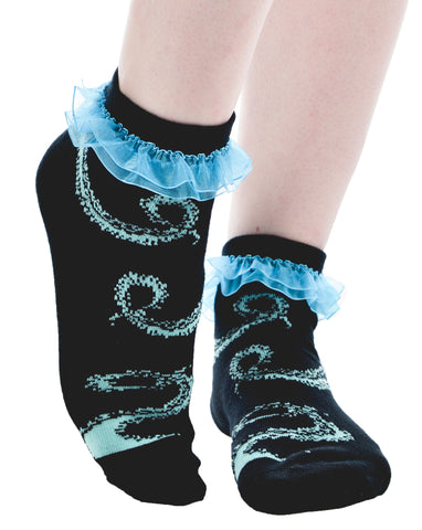 Octopus Ruffled Ankle Socks - Carrie's Closet  - 1