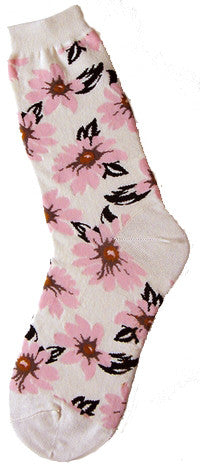 Morning Blossom Women's Socks - Carrie's Closet  - 1