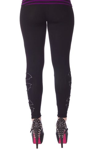 Go Batty Leggings - Carrie's Closet