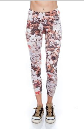 Teddy Bear Leggings - Carrie's Closet
