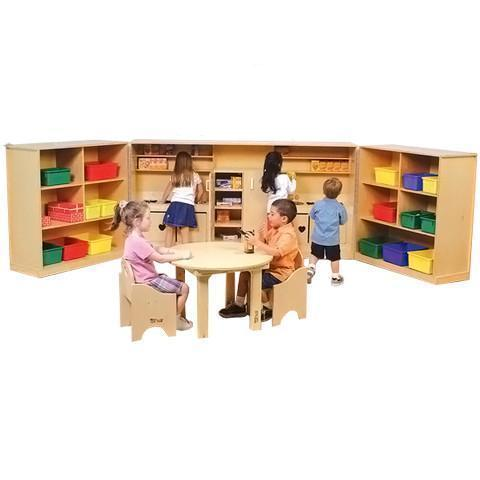 Tri-Fold Dramatic Play Unit