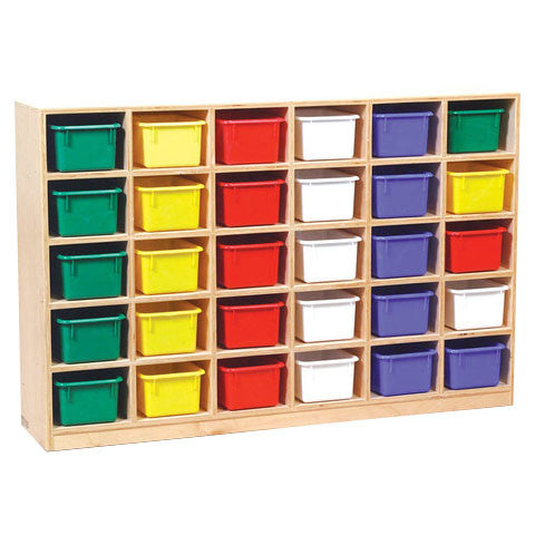 30-Hole Cubby Storage Unit