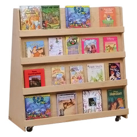 Mobile Double-Sided Library Display Unit