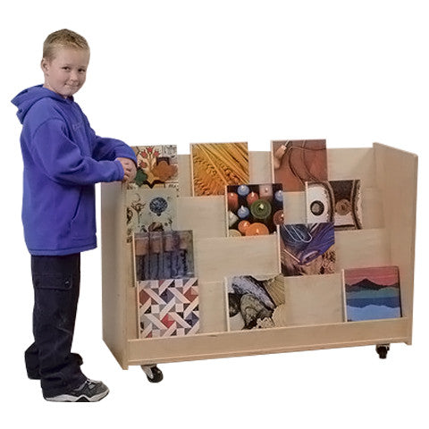Mobile Library Display Unit