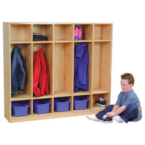 Coat Locker with Cubbies